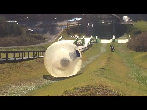 Ogo At Outdoor Gravity Park Pigeon Forge Zorbing Youtube