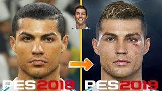 PES 2019 | New Face Concept | (Ronaldo, Griezmann, Carvajal).