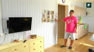 видео Внутренняя отделка каркасного дома