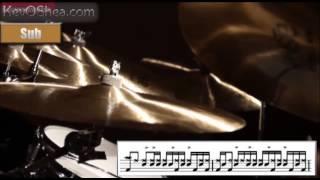Vinnie Colaiuta Ghostnote Groove | Drum Lesson