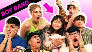 I Tried Babysitting With A Boy Band Feat. PRETTYMUCH