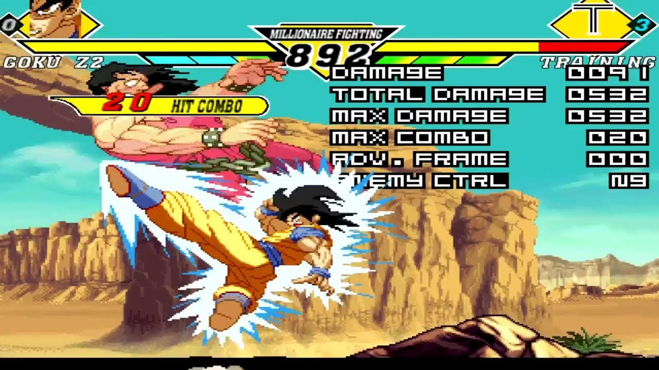 Goku Z2 - Downloads - The MUGEN ARCHIVE