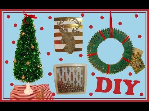 ❅ DIY Noël 4  Idées de déco facile à faire soi même ❅