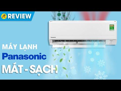 Máy lạnh Panasonic Inverter 1HP: không chỉ MÁT mà còn SẠCH (CU/CS PU9WKH-8M) • Điện máy XANH