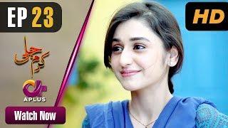 Karam Jali - Episode 23 | Aplus Dramas | Daniya, Humayun Ashraf | Pakistani Drama