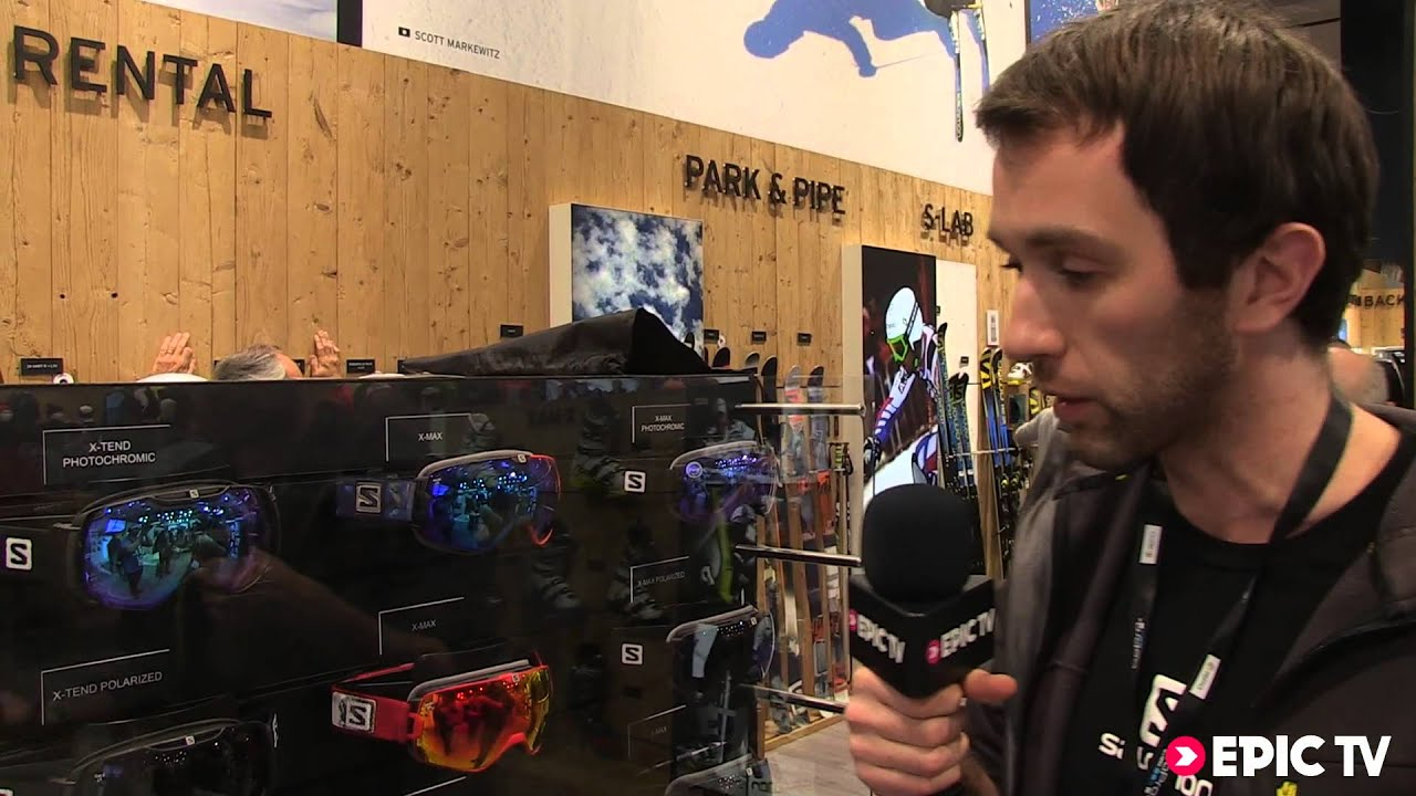 450cebf5c3a Goggles Preview  2014 Salomon X-Max from ISPO 2014 - YouTube