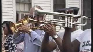 Hippenmeyer filmed in New Orleans 1982 - Olympia Brass Band