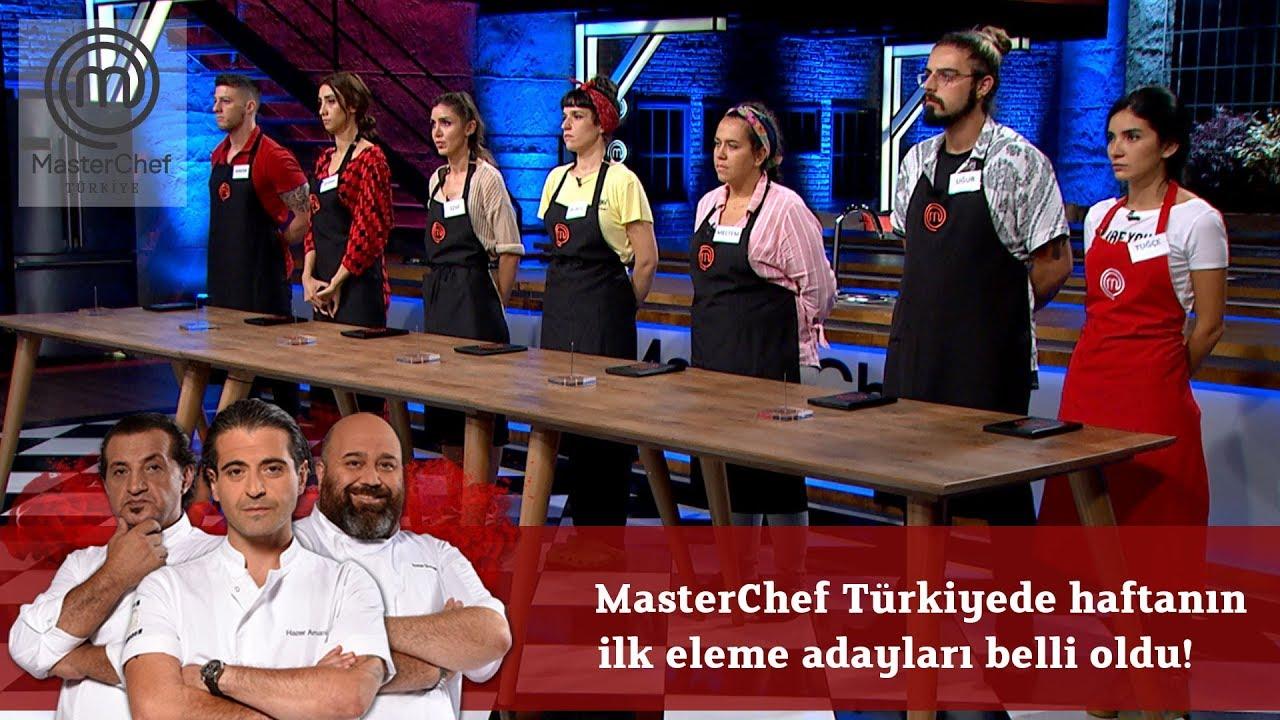 MasterChef Türkiyede haftanın ilk eleme adayları belli oldu!  | 5.Bölüm | MasterChef Türkiye
