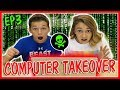 HACKER NAME REVEAL AND COMPUTER TAKEOVER! | MYSTERY HACKER EP. 3 | We Are The Davises