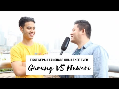 Gurung VS Newari  First Nepali Language Challenge ever in Hong Kong