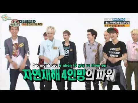 [Vietsub] 130814 EXO @ Weekly Idol { S-Planet T.A.T }