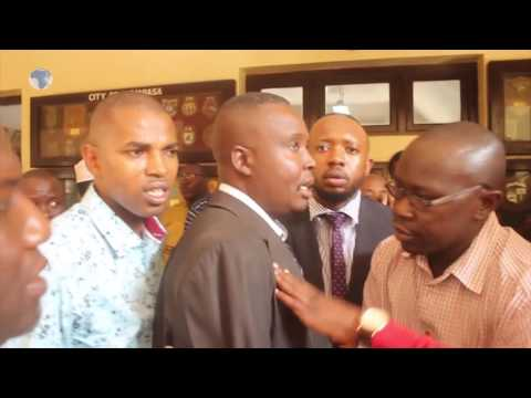 Drama at the Mombasa County assembly as the public and media were locked out