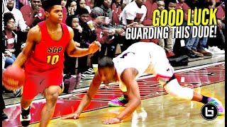 """HE ONLY 5'7"" BUT GOOD LUCK GUARDING HIM!"" Bryce Cook Ballislife Highlights"