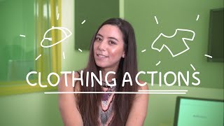 Weekly German Words with Alisa - Clothing Actions