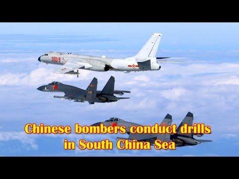 Chinese bombers & fighter jets conduct drills in South China Sea & Western Pacific
