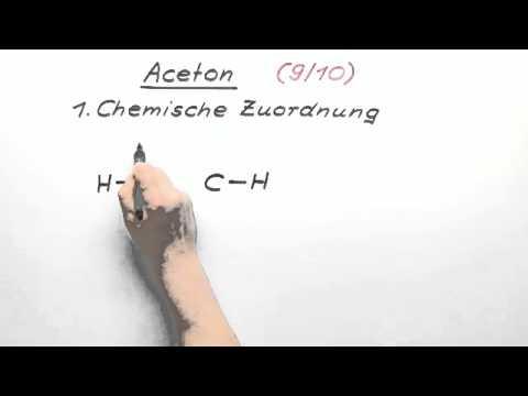 aceton 9 10 chemie organische chemie youtube. Black Bedroom Furniture Sets. Home Design Ideas