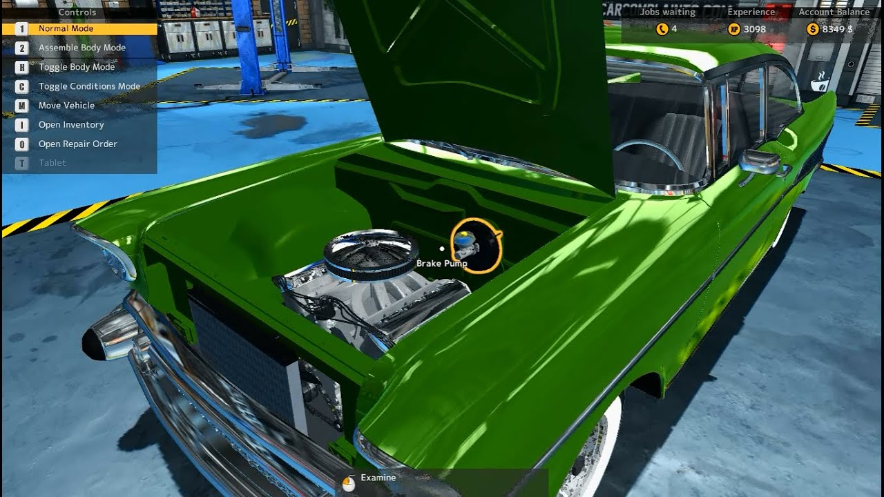 car mechanic simulator how to add non stock engine