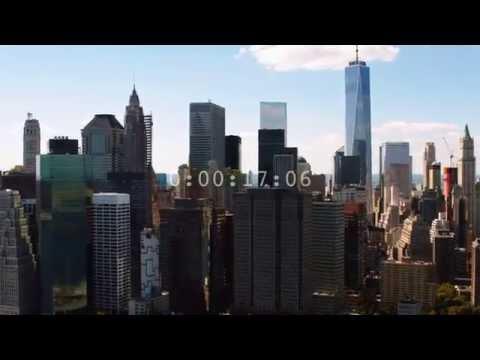 New York bridge and waterfront