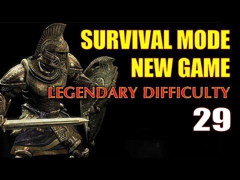 Skyrim SURVIVAL MODE Walkthrough Legendary Part 29 - Buying Up Soul Gems for Power Enchanting
