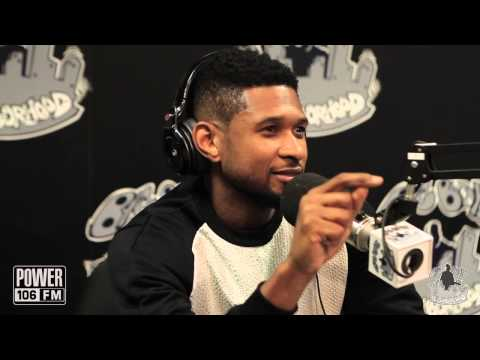 Usher Talks Good Kissers In His Life