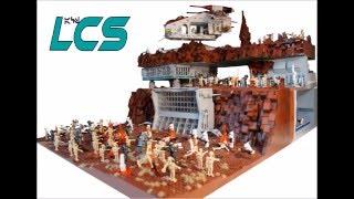Lego Star Wars Clone Base on Geonosis by LittleCloneStudios