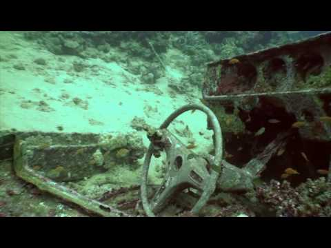 Toyota cars in sea bottom!  Blue Belt (