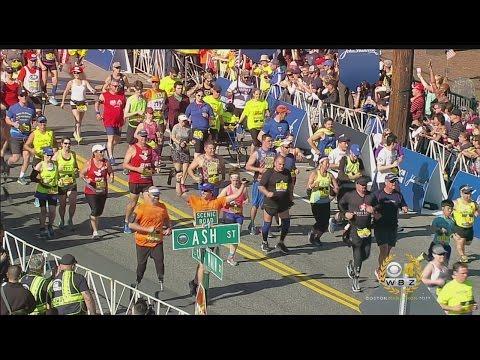 2017 Boston Marathon Mobility Impaired Start
