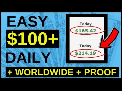 How To Make $100 Per Day Online 🔥 WORLDWIDE 🔥
