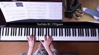 使用楽譜:月刊ピアノ2018年4月号 採譜者:川田千春 2018年3月22日 録画.