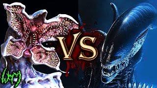 Demogorgon Versus Xenomorph (Demogorgon VS Alien) - Monster Battles