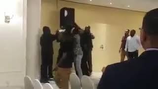 طرد برهومي في حفلة مروة الدولية بدبي