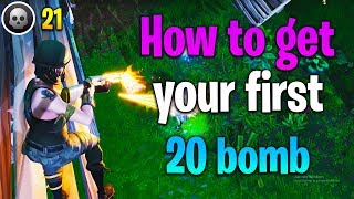 How to get 20 ELIMINATIONS in Fortnite! How to get better at Fortnite (fortnite tips)