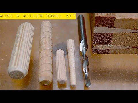 """Столярные Хитрости. Соединение На """"Деревянный Гвоздь"""". Mini X Miller Dowel Joinery Kit"""
