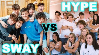 Hype House's Beef With Sway House | Hollywire