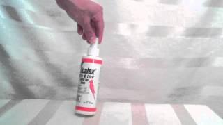 Scalex Mite and Lice spray for birds.