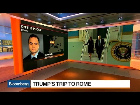 What to Expect From Trump's Trip to Rome