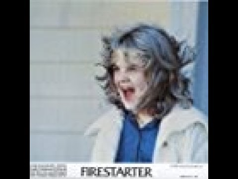 Firestarter 1984 Movie -  Drew Barrymore, David Keith, Freddie Jones