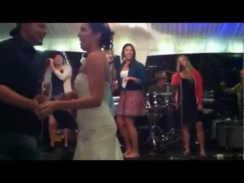 No Parking Performing at a Wedding