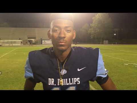 Observer Preps: BeSean McCray - Dr. Phillips football 08/24/17