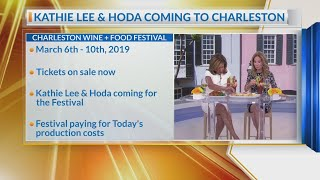 Kathie Lee and Hoda are coming to Charleston