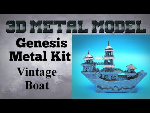 Genesis Metal Model Build - Vintage Boat