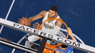 NBA Live 14 PS4 - Oklahoma City Thunder vs Indiana Pacers - 4th Qrt - HD