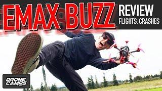 FREAKING AMAZING! - EMAX BUZZ - Freestyle Quad Review, Flights, & Crashes