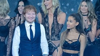 "Ariana Grande Admits To Ed Sheeran That She LOVES ""Big Black Balls""?"
