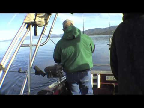 Lake Tahoe Mackinaw Attacks And Rigging Setup