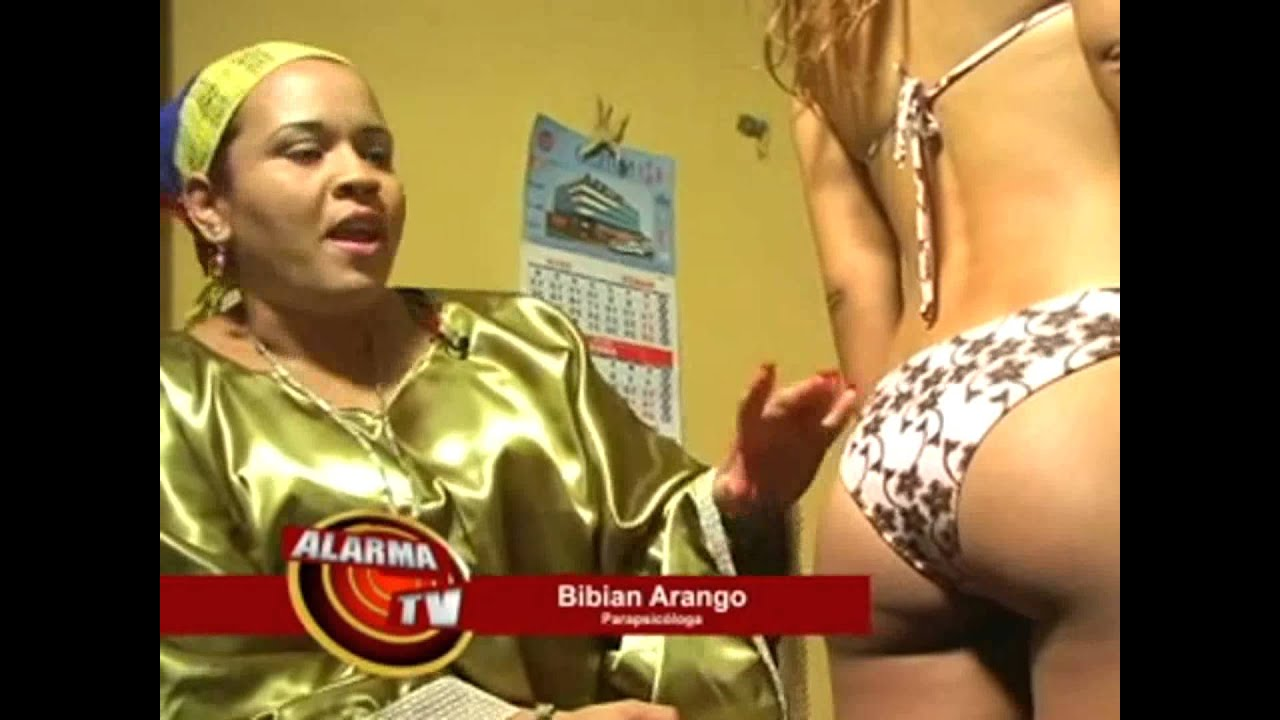 Bibian Arango y la lectura de la rumpologia - YouTube