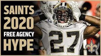 Get Hype: Saints 2020 Free Agency Class | New Orleans Saints