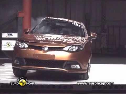 Euro Ncap Mg6 2011 Chinese Car Crash Test Youtube
