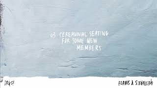 DAGS! - Ceremonial seating for some new members