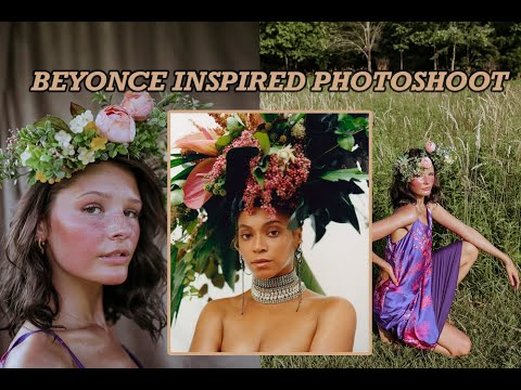 BEYONCE INSPIRED SUMMER FIELD PHOTOSHOOT thumbnail